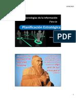TIC para la Planificacion estrategica