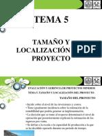 TEMA 5 tamaño y localización del proyecto2
