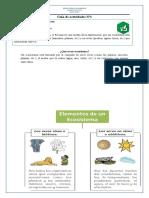 GUÍA CIENCIAS NATURALES  Nº1