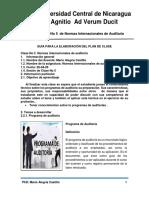 CLASE No 5 NORMAS INTERNACIONALES DE AUDITORIA