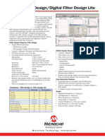 DsPIC Filter Design Sell Sheet_51438b