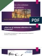 Introducción a los sistemas eléctricos de potencia
