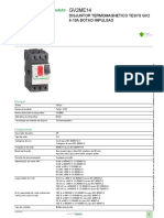 Disjuntor motor TeSys GV2_GV2ME14