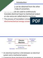 ELECTRIC MACHINE PPT
