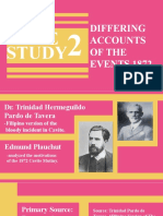 Case study 2 DIFFERING ACCOUNTS OF THE EVENTS 1872.pptx