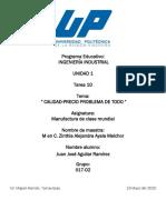 CALIDAD_PRECIO_PROBLEMA DE_TODO_INGENIERO_Tarea10
