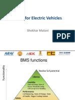 Shekhar Malani_BMS for EV