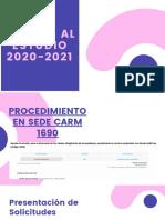 Ayudas Al Estudio 2020 2021