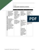 cerinte pentru standare si obiective