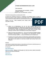 INFORMATIONEN Wintersemester Lexik 4