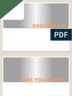 ENGLISH 110