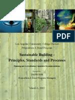 Sustainable Building Principle