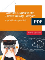 Raport Future Ready Laywer 2020