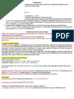 Appunti di Algebra e Geometria