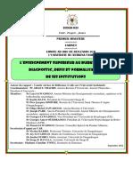 Cadre Ad hoc de Reflexion sur l'université Burkinabé _