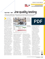 End-of-line quality testing - Automotive Testing International - Article