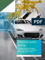 Siemens SW Industrial quality testing EB