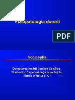 1_Fiziopatologia durerii