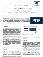 Polyaniline Thin Films for Gas Sensing2