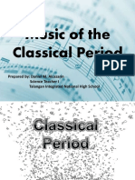 musicoftheclassicalperiod QUARTER 2