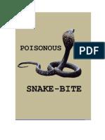 Venomous Snakebite