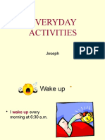 Everyday Activities Demo