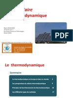Solaire thermodynamique