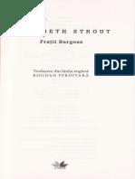 Fratii Burgess - Elizabeth Strout