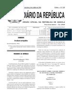 D. Presidencial 195.11 de 8 de Julho_Regulamento Sobre o Regime Juridico da Segurança Contra Incêndios em Edificios