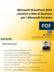 Overview of Share Point 2010 for Microsoft Partners