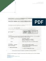 CTICM Certification d'un Mur à arrêté du mars 2004