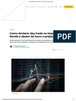 Como declarar day trade no Imposto de Renda e abater do lucro o prejuízo_