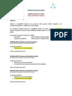 TRABAJO PRACTICO 2 202010 TP2 Adm. Obras