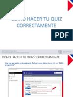 4. Manual - Cómo hacer tu quiz correctamente