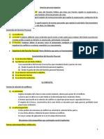 Derecho procesal organico resumen