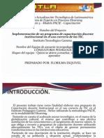 Implementación de un programa de capacitación docente institucional en el uso correcto de las TIC.