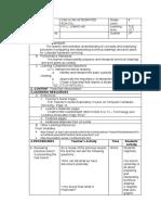 LESSON 6 DLP GRADE 8 TLE-ICT (INTERPRET TECHNICAL DRAWING)