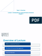 Topic 1 Lecture 1 Introduction to corporate finance decisions.pptx