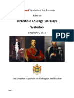 Incredible Courage 100 Days - Waterloo