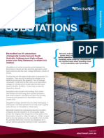 ElectraNet Fact Sheet Substations 2016