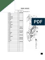 2-4tons Forklift Parts Manual