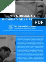 Dignidad Humana lectura adicional