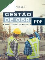Ebook - 8 Estratégias de Gestão de Obras