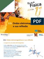 M13 Ondas electromagnéticas e a sua reflexão