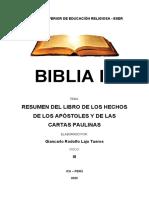 ESCUELA SUPERIOR DE EDUCACIÓN RELIGIOSA