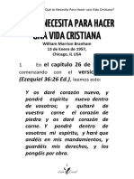 57-0113 QUÉ SE NECESITA PARA HACER UNA VIDA CRISTIANA  J. Córdova