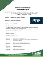 ESPECIFICACIONES TÉCNICAS 01