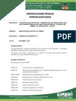 ESPECIFICACIONES TÉCNICAS 02