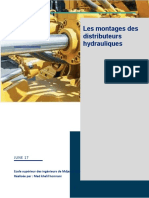 montages distributeur hydraulique