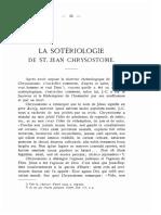 La sotériologie de st. Jean Chrysostome - E. Michaud